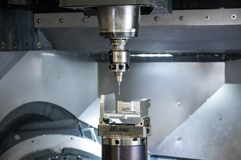 Measuring probes in the milling machine