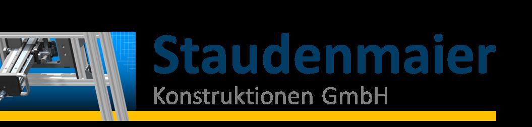 Logo Staudenmaier Konstruktionen GmbH