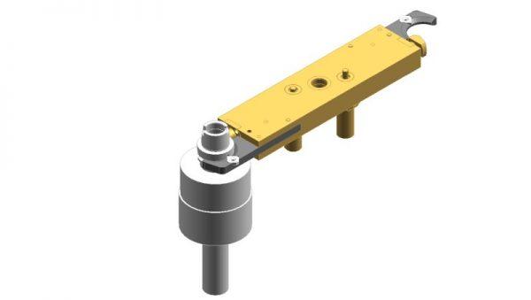 Hook gripper with tool lock