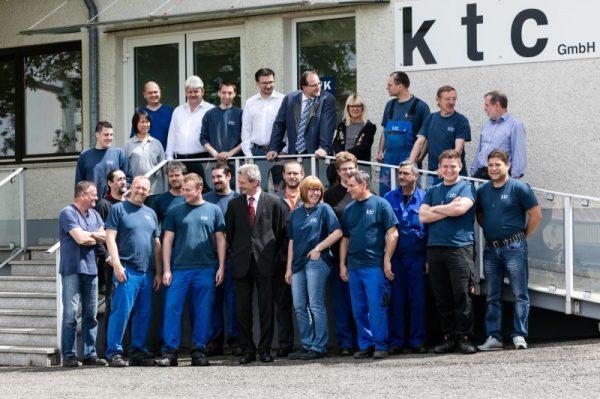 Das Team aus Straubenhardt